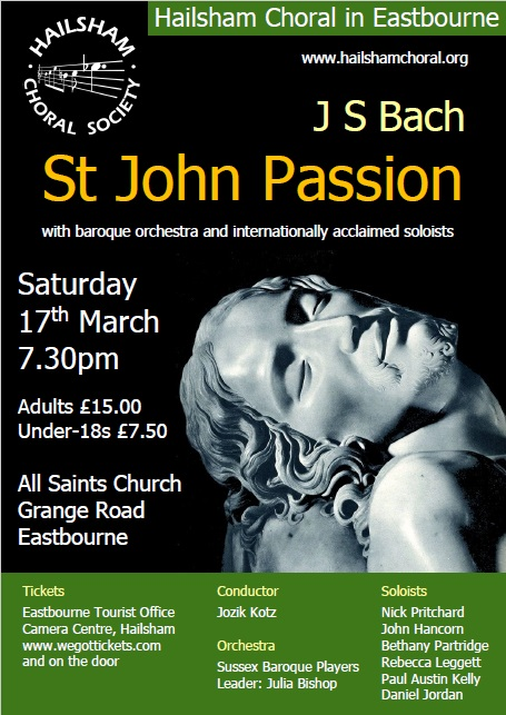 Bach concert poster